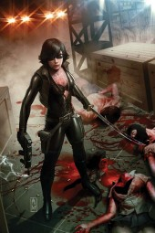 The Ninjettes #1 Virgin Art Retailer Incentive Cover