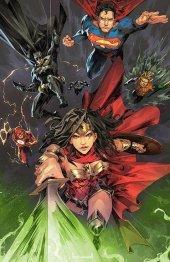 Justice League #1 Kael Ngu Variant C