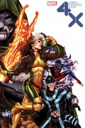X-Men / Fantastic Four #2 Brooks Variant