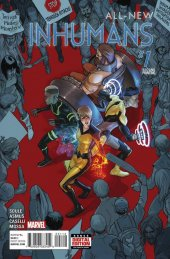 All-New Inhumans #1 2nd Printing