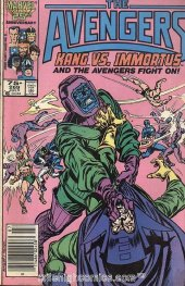The Avengers #269 Newsstand Edition
