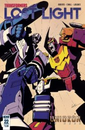 Transformers: Lost Light #22 Cover B