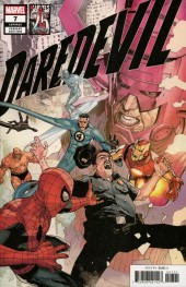 Daredevil #7 Leinil Yu Marvels 25th Tribute Variant