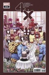 X-Men / Fantastic Four #1 1:100 Hidden Gem Variant