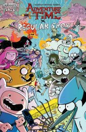 Adventure Time / Regular Show #1 Subscription Corona Variant