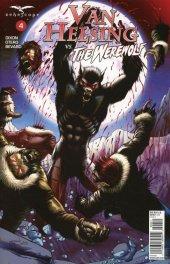 Van Helsing vs. The Werewolf #4 Cover D Metcalf