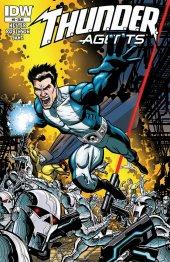 T.H.U.N.D.E.R. Agents #8 Original Cover