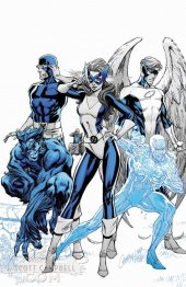 X-Men: Blue #1 J Scott Campbell Cover C