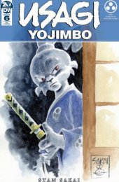 Usagi Yojimbo #6 Torpedo Comic cover