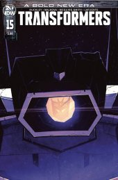 The Transformers #15 Cover B Burcham