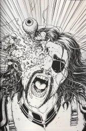 The Walking Dead #48 15th Anniversary Blind Bag Burnham B&W Virgin Cover