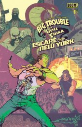 big trouble in little china / escape from new york #1