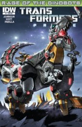 Transformers: Prime - Rage of the Dinobots #1 Cover RIA