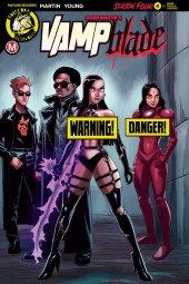 Vampblade Season 4 #4 Cover B Young Risque