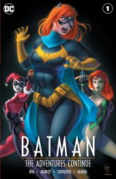 Batman: The Adventures Continue #1 Warren Louw Variant B