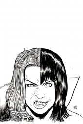 Vampirella / Red Sonja #7 1:11 Incentive