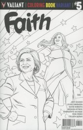 Faith #5 Cover D Coloring Book Variant