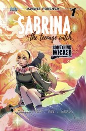 Sabrina The Teenage Witch: Something Wicked #1 TRICIA WEE WONDERIFIC EXCLUSIVE VARIANT EDITION