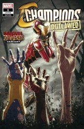 Champions #1 Andrews Marvel Zombies Variant