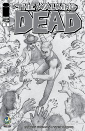 The Walking Dead #1 Wizard World Comic Con San Jose VIP Exclusive Sketch Variant