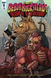 TMNT: Bebop & Rocksteady Destroy Everything #5 Subscription Variant