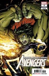 Avengers #2 2nd Printing McGuinness Variant