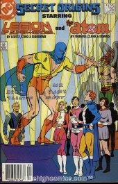 Secret Origins #25 Newsstand Edition