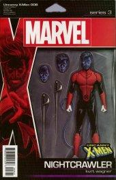 Uncanny X-Men #8 Christopher Action Figure Variant