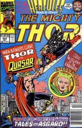 The Mighty Thor #437 Newsstand Edition