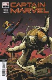Captain Marvel #2 2nd Printing