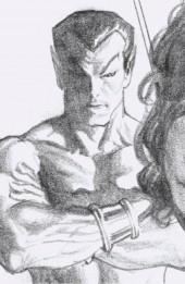 Empyre: Fallout - Fantastic Four #1 1:100 Timeless Virgin Sketch Variant