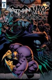 Batman / The Maxx: Arkham Dreams #2 1:10 Cover Jones