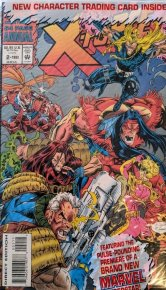 X-Force Annual #2 Polybagged with Trading Card