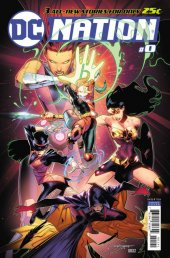 DC Nation #0 1:500 Justice League Variant cover