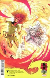 X-Force #5 Russell Dauterman Dark Phoenix Saga 40th Anniversary Variant