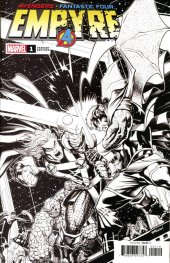 Empyre #1 Cover Q Incentive Ed McGuinness Launch Sketch Variant Cover