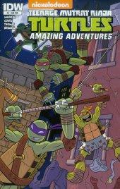 Teenage Mutant Ninja Turtles: Amazing Adventures #3 Subscription Variant
