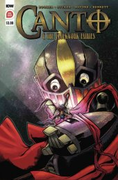 Canto & the Clockwork Fairies #1 2nd Printing