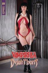 Vampirella / Dejah Thoris #1 Cover E Vampirella Cosplay
