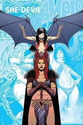 Vampirella / Red Sonja #11 Cover E Moss