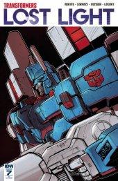 Transformers: Lost Light #7 RI Cover