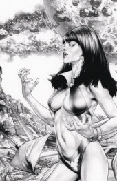 Vampirella / Dejah Thoris #1 Jay Anacleto Variant D