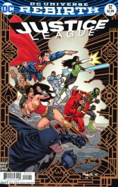 Justice League #12 Variant Edition