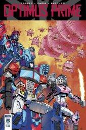Optimus Prime #5 SUB-A Cover