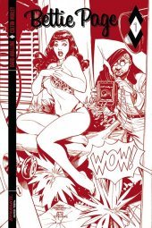 Bettie Page #1 Cover K 1:50 Dodson Red Hot Incentive