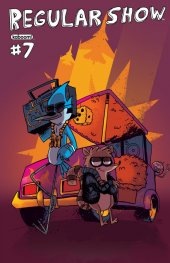 Regular Show #7 Cover B