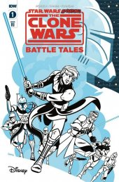 Star Wars Adventures: The Clone Wars - Battle Tales #1 1:10 Incentive Varaint