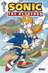 Sonic the Hedgehog #13 Cover B Gates