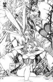 Grimm Fairy Tales Presents Wonderland #17 Black Diamond Exclusive Sketch Variant