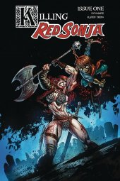 Killing Red Sonja #1 Cover B  Gedeon Zombie